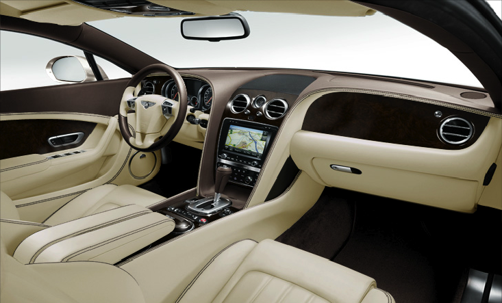 Bentley Continental ST Speed Interieur