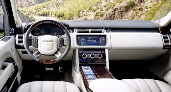 Range Rover 2013 Intérieur