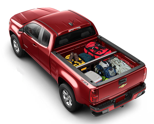 2015 Chevrolet Colorado Reveal Cargo Divider