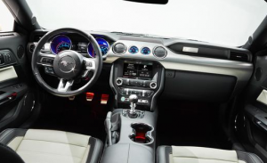 Ford Mustang 2015 50th anniversary interieur