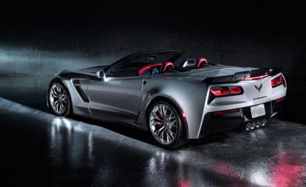 Corvette rear profile