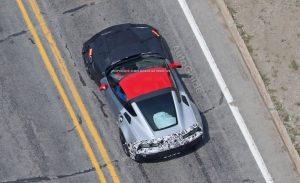 Corvette ZR1 camouflée